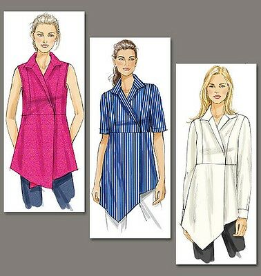 FROM UK SEWING Pattern Blouse Tops Dress, 16-24 #7092 - £9.90 ...