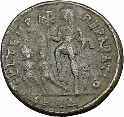 CONSTANTIUS II son of Constantine the Great w labarum Ancient Roman Coin i39167