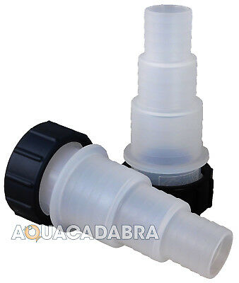 Hozelock Uvc Inlet Outlet Uv Adaptors 1537 Hosetail Set Vorton Ecopower Bioforce