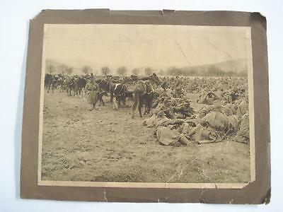 Antique Ww1 1915 Original Photo -  French Soldiers