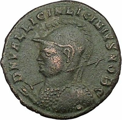 LICINIUS II Constantine the Great  Nephew Ancient Roman Coin Jupiter cult i39193