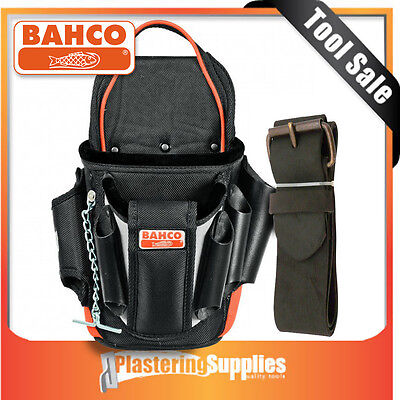 "BAHCO 4750-EP-1 Electrician Pouch with 2"" Leather Belt"