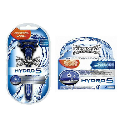 Original Wilkinson Sword Hydro 5 Shaving Blades / Hydro 5 Power Select Razor