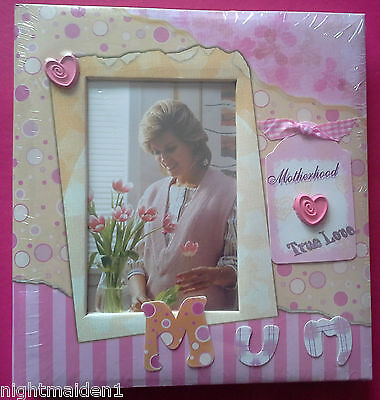 Childrens/Babies/Mum/Motherhood/True Love Pink Photo Album