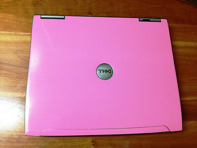 Pink Dell Latitude D610 P4 M 1.86ghz 1gb 40gb Win XP Wifi DVD Laptop Notebook