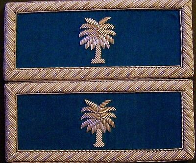 Civil War CSA Army State SC Carolina Straps Boards Palm Uniform Unit ID Officer