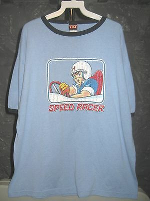 Speed Racer Classic Blue Speed Racer Extra Large T-Shirt