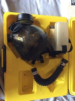 "Wilson Gas Mask S6700 w/Canister & 12"" Snork Tube! Perfect For Your Rat Rods!"