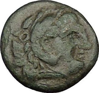LYSIMACHOS successor of Alexander the Great Hercules Ancient Greek Coin i39382