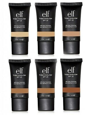 E.L.F. Studio Tinted Moisturizer SPF 20 NIP choose color ELF Cosmetics