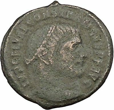Constantine I the Great  313AD Ancient Roman Coin Zeus Jupiter Cult  i39406