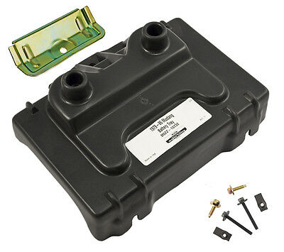1979-1986 Ford Mustang Battery Tray, Hold Down Clamp, & Mounting Hardware Kit