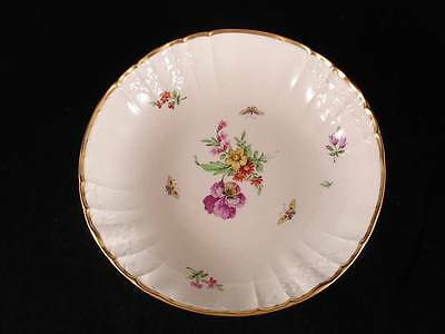 "KPM ~ ROCAILLE Decor 36 Butterflies ~ 9 3/8"" Serving Bowl"
