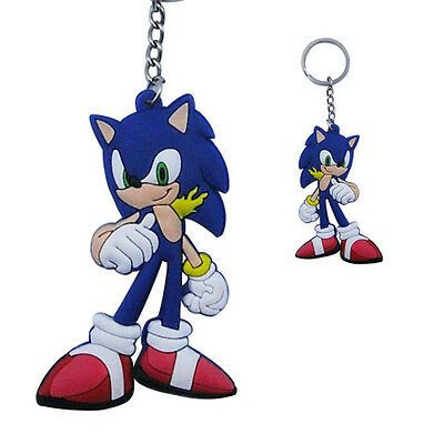 The HEDGEHOG Sonic Two Side Design Key Chain
