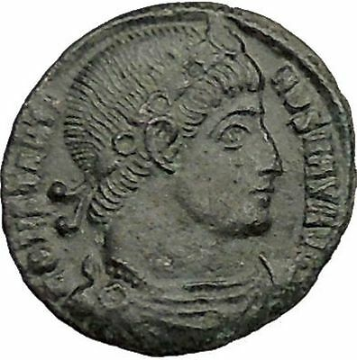 Constantine I The Great 334AD Ancient Roman Coin Standard  Glory of Army i39474