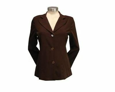 New Duet Designs Maternity Professional Career Brown Suit Blazer Jacket XS 2/4