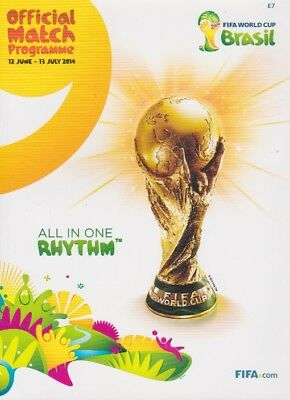 2014 Fifa World Cup Official Programme Brazil