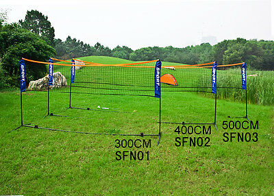 SoBuy ® Height Adjustable Tennis Net, Badminton Net with Stand Frame, SFN, UK