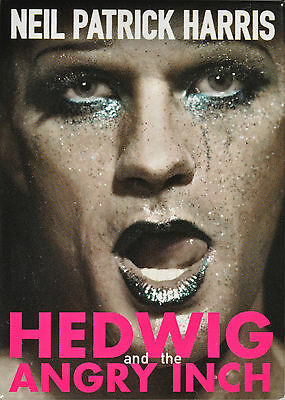 HEDWIG AND THE ANGRY INCH BROADWAY SOUVENIR MAGNET - NEIL PARTICK HARRIS
