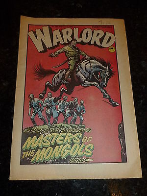WARLORD Comic - Issue 395 - Date 17/04/1982 - UK Paper Comic