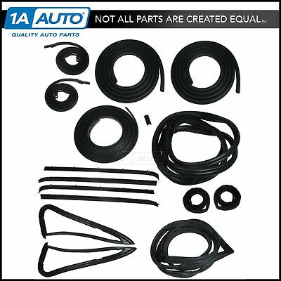 Complete Weatherstrip Seal Kit for 85-91 Chevy GMC Truck C10 R1500 V1500