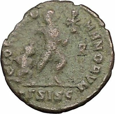 "VALENS ""Last True Roman"" w labarum 364AD Ancient Roman Coin Christ monog  i39503"
