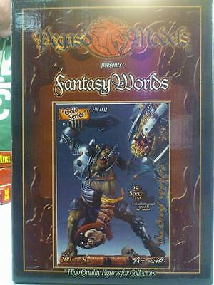 Pegaso Models - Fantasy Worlds - The Orogs Warlord - Gold Series - Resin Cast