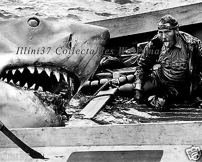 Robert Shaw In Jaws The Movie Rare 8X10 Photo