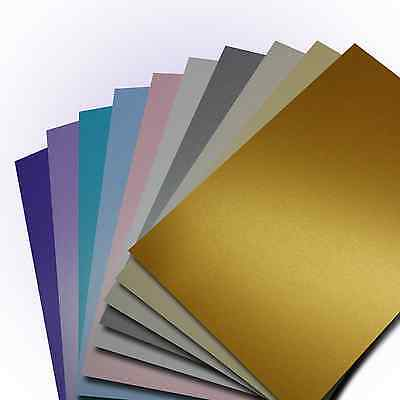 A4 Double Sided Centura Pearlescent - 260gsm Pearlised Shimmer Craft Card