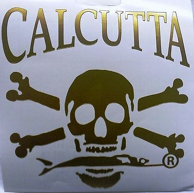 "Calcutta Die Cut Decal for Trucks/Cars/Boats 3.75"" x 3.75"" Gold"