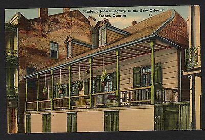 "Louisiana Postcard Madame John""s Legacy in the New Orleans French Quarter"