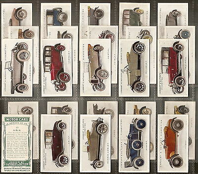 LAMBERT & BUTLER-FULL SET- MOTOR CARS 1st SERIES - EXC