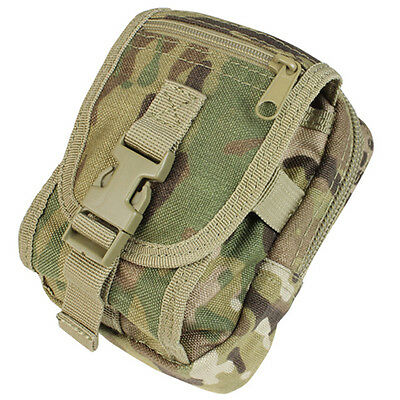 NEW CONDOR MA26 Tactical MOLLE Gadget Tool Camera Cell Phone GPS Pouch Multicam