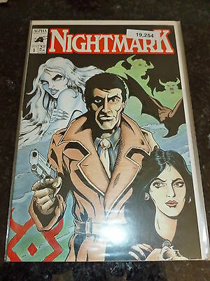 NIGHTMARK - No 1 - Date 1991- Alpha Comics