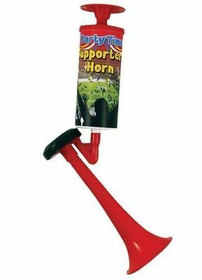 Hand Held Pump Action Party Football Festival Air Fog Horn Blower Won't Run Out!