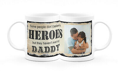 Beautiful Personalised Photo Mug Daddy Dad Grandad Brother Uncle Gift Present