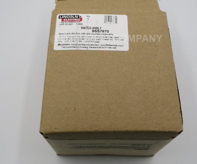 LINCOLN S7670 Line Switch Assembly (Below Code 10400)