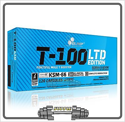 Olimp T-100 LTD Limited Edition Strong Male Testosterone Booster 15-120Caps