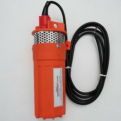 24V Submersible Deep DC Solar Well Water Pump Solar battery alternate energy USE