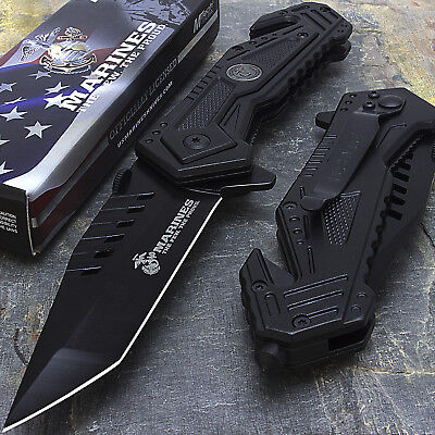 """8"""" MTECH USA TACTICAL MARINES SPRING ASSISTED TACTICAL FOLDING KNIFE Pocket"""