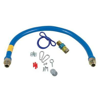 Dormont - 1 in x 48 in Gas Line Hose Kit Connector
