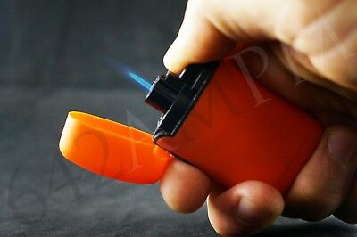 1 Triple Jet Torch Flame Windproof Butane Refillable Lighter