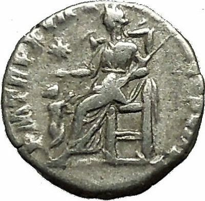COMMODUS son of Marcus Aurelius 192AD Ancient Silver Roman Coin Pietas  i39608