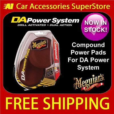 Meguiars DA Power System Ultimate Compound Power Pads Brand New 2013 G220v2