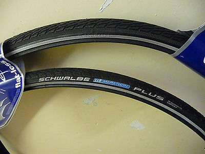 Schwalbe Marathon PLUS Cycle/Bike Tyres 700 x 25c PAIR NEW Puncture Protection