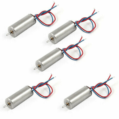 5 Pcs DC 4.2V 46500RPM 6x14mm Magnetic Mini Coreless Motor for DIY RC Aircraft