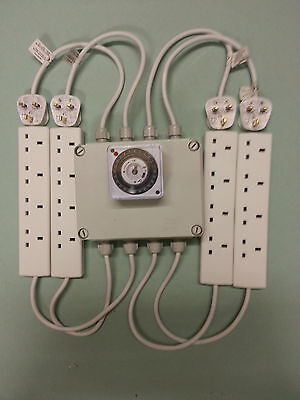 16Way  Lighting Controller With Mechanical Timer