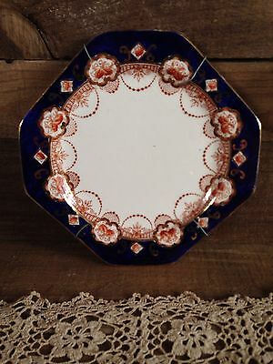 VINTAGE ROYAL STAFFORD PLATE With WALL MOUNT BRACKET