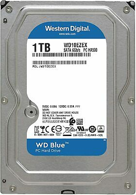"1TB WD Blue HDD 3.5"" SATA Internal Desktop Hard Drive 7200RPM Western Digital"
