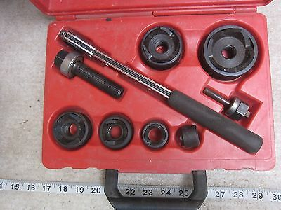 "GB Gardner Bender KOW-520 1/2"" thru 2"" Conduit Knockout Punch Driver Set, Used"